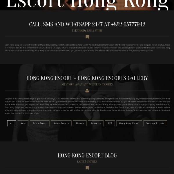 Hong Kong Escort