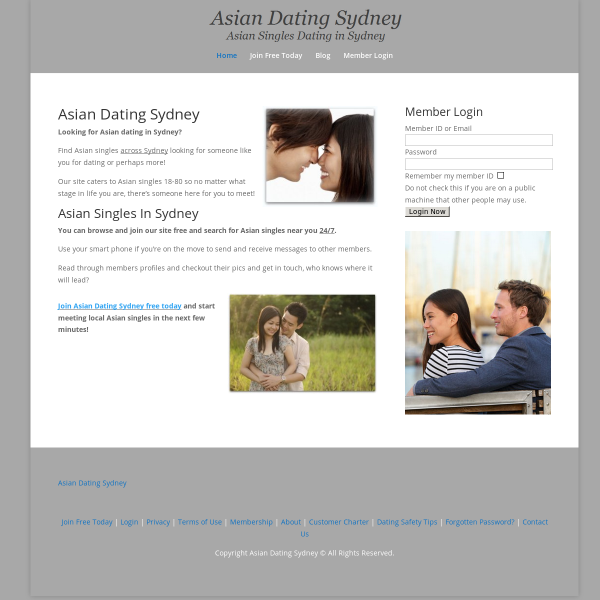 Details : Asian Dating Sydney