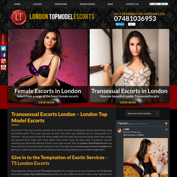 Details : escort agency in london | elite london escorts | transsexual