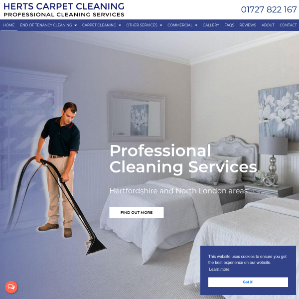 Details : Carpet Cleaning Saint Albans