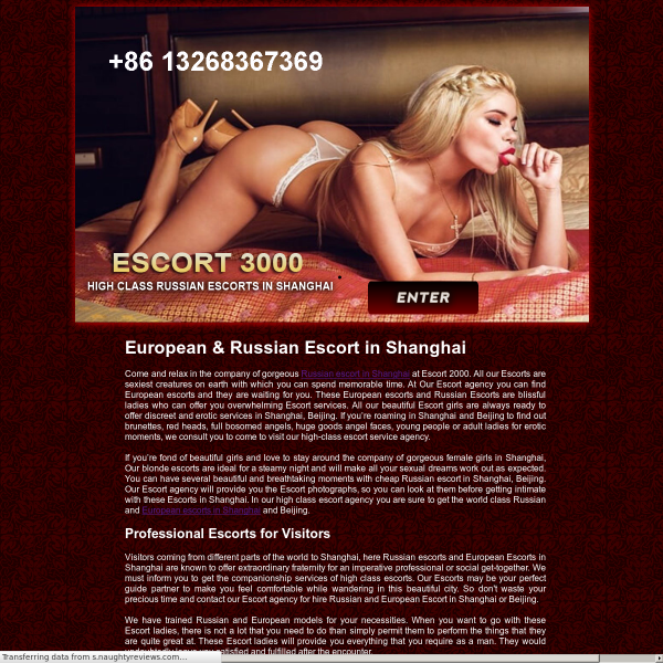 Details : Welcome to Escort 2000