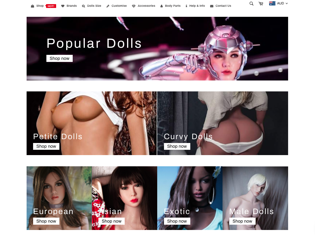 Details : Real Doll | Adult Dolls | Cassius Sex Dolls